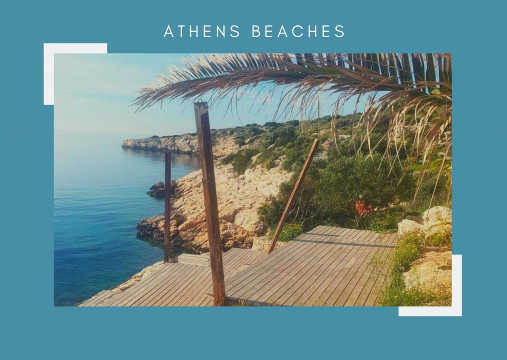 Best beaches around Athens, Greece. id friendly, budget and luxury beaches.