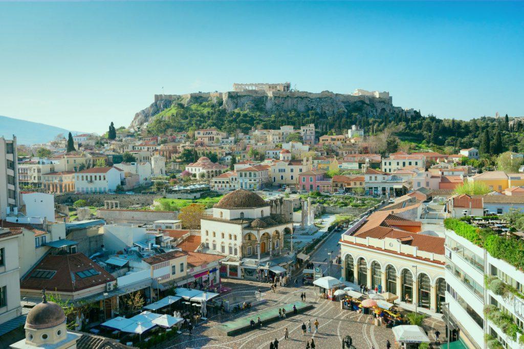 Athens for yoga retreat - Monastiraki