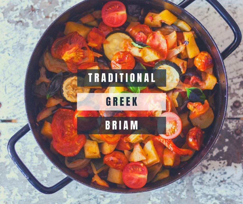 Vegan Mediterranean recipes - briam